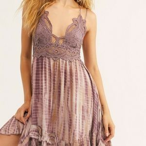 "Free People FP One ""Adella"" Slip Crochet Dress XS"